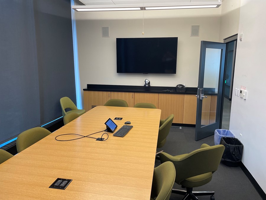 Roux 302. View of the conference room.